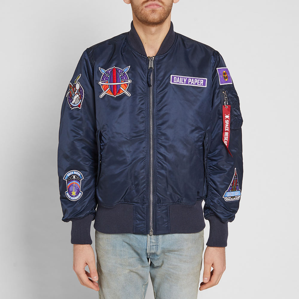 6a2828de7 Alpha Industries x Daily Paper MA-1 'Zambian Space Program' Jacket