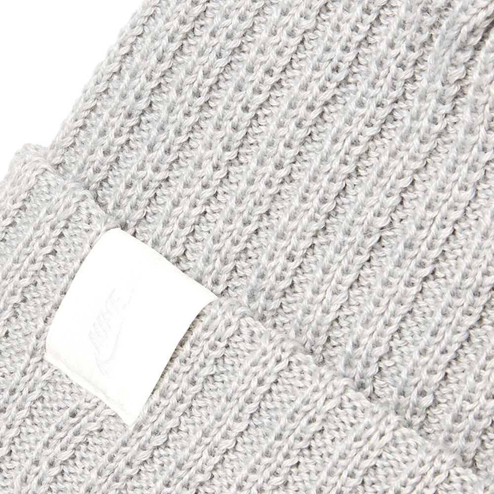 5b148014df55b NikeLab Essentials Beanie Grey Heather   Sail