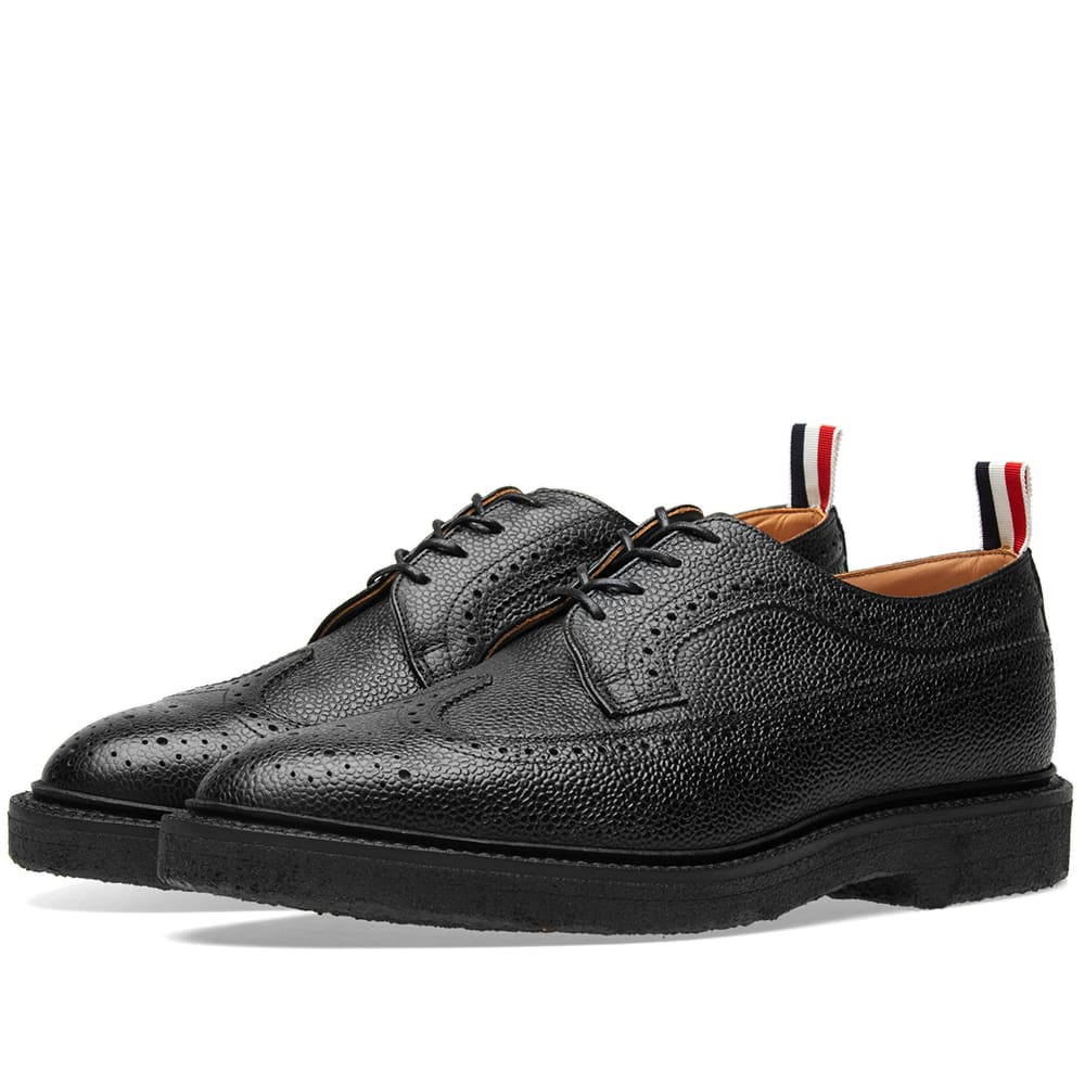 Thom Browne Classic Crepe Sole Longwing Brogue