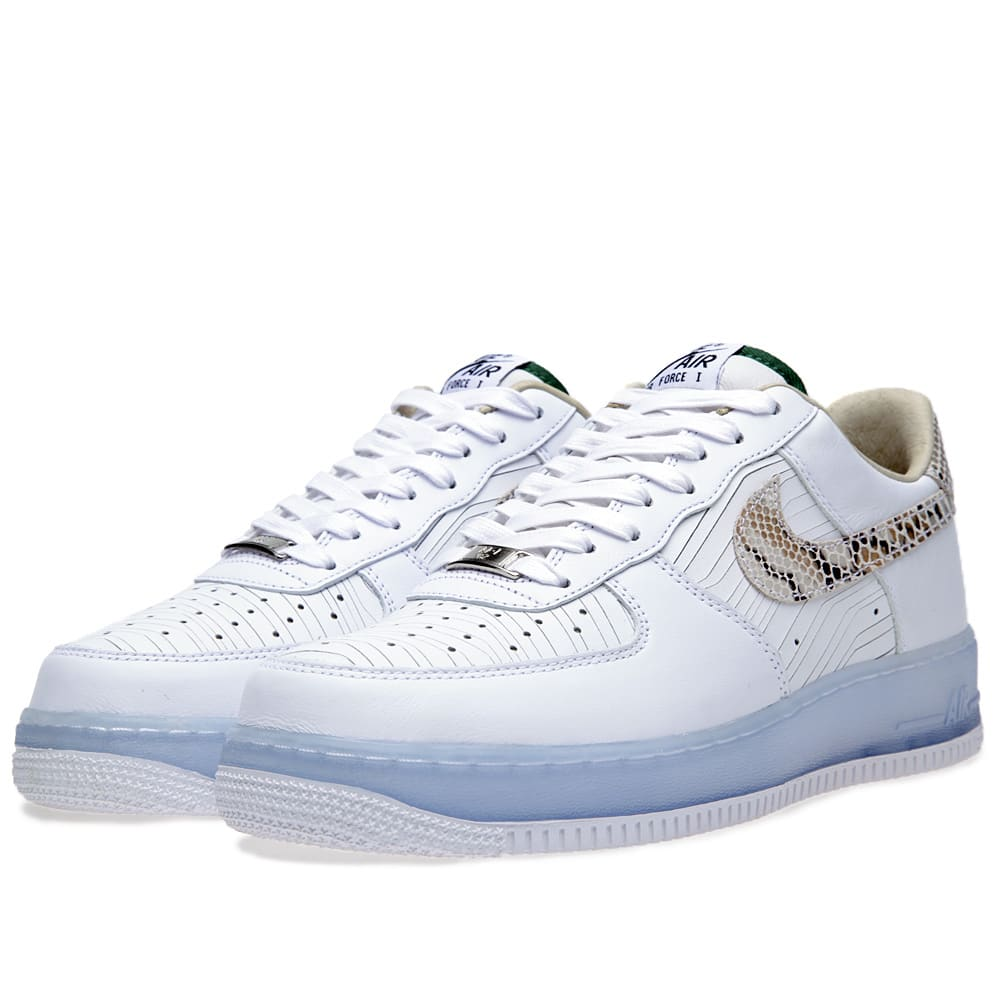 purchase cheap 45269 44352 Nike Air Force 1 Low PRM CMFT QS White   END.
