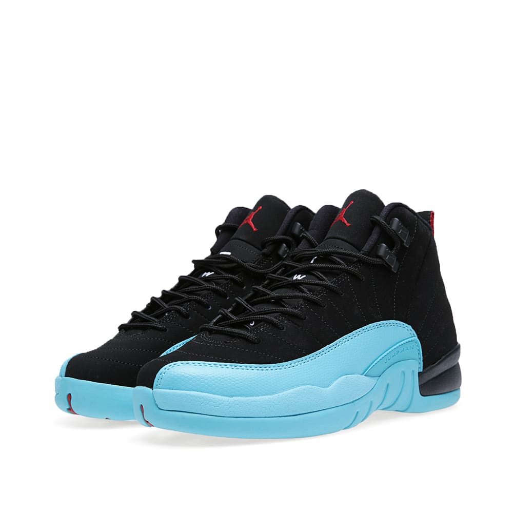 brand new 9fbba 85511 Nike Air Jordan XII Retro GS  Gamma Blue  Black   Gym Red   END.