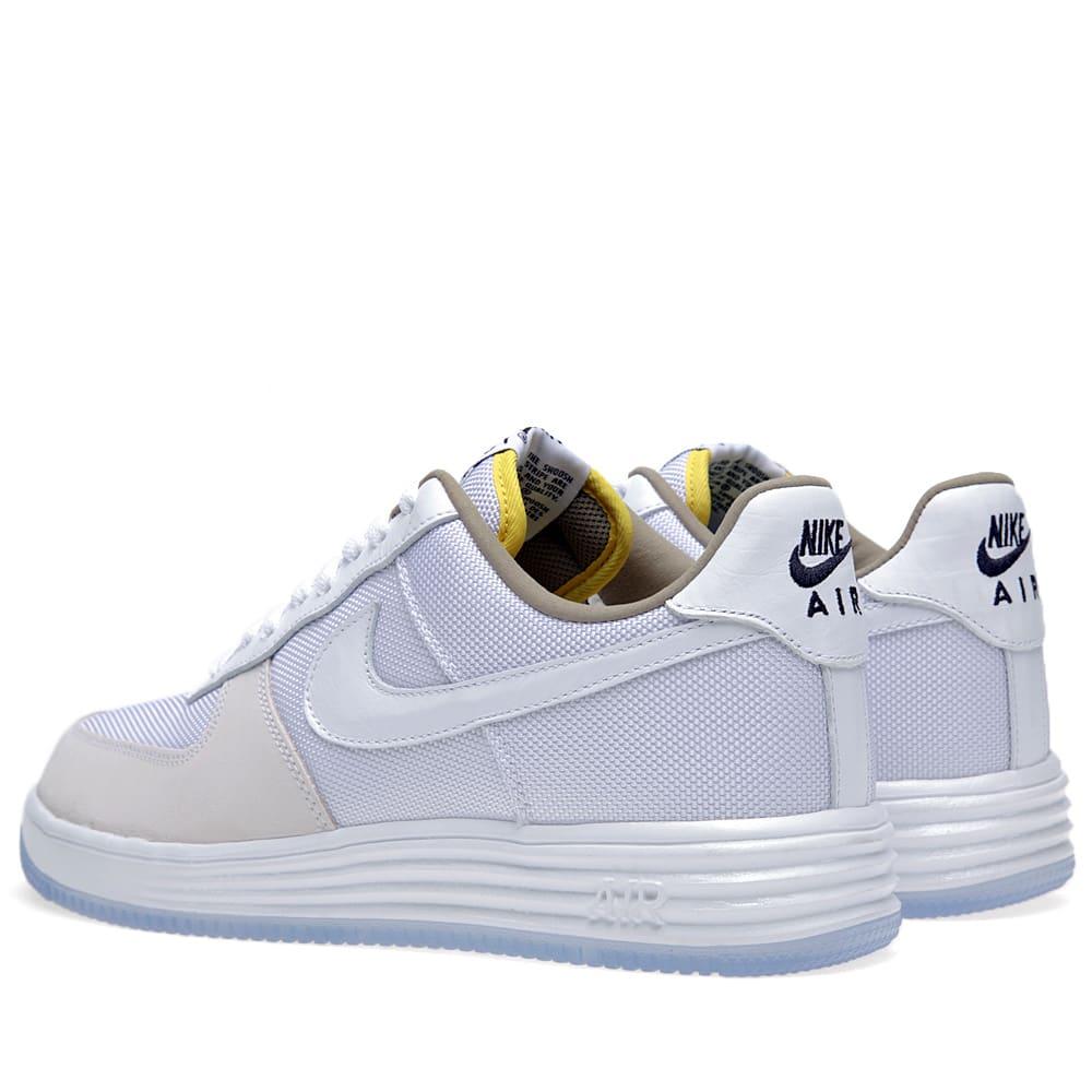 Nike Lunar Force 1 QS White | END.