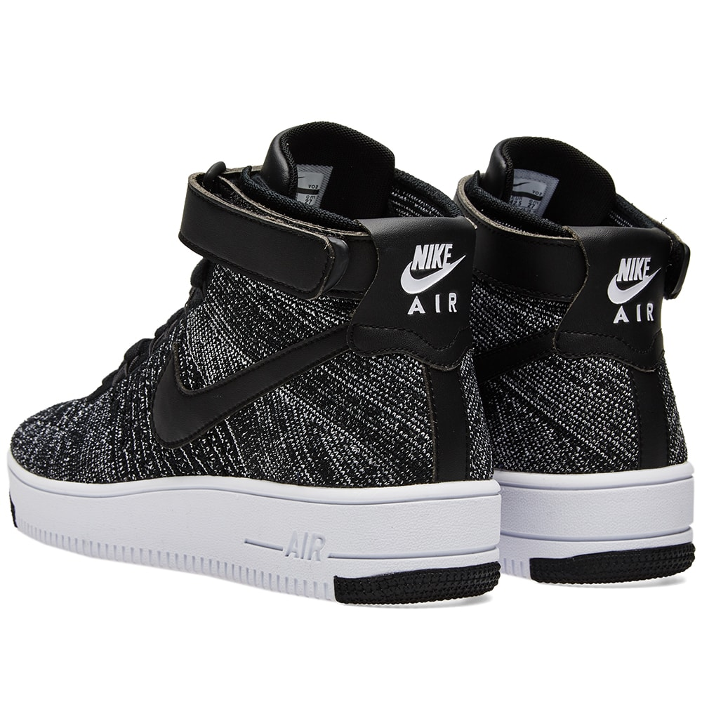 nike air force 1 flyknit black white. Black Bedroom Furniture Sets. Home Design Ideas