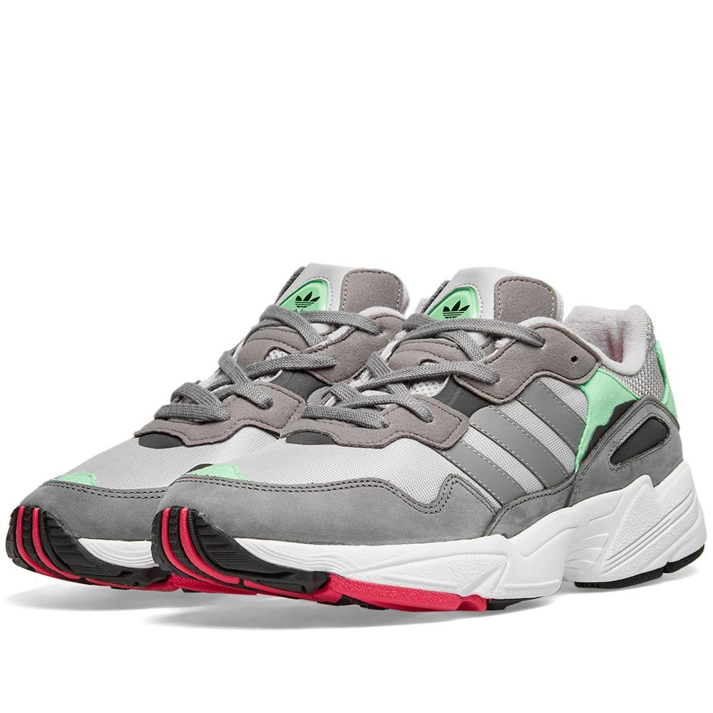 Adidas Yung 96 Grey \u0026 Shock Pink   END.