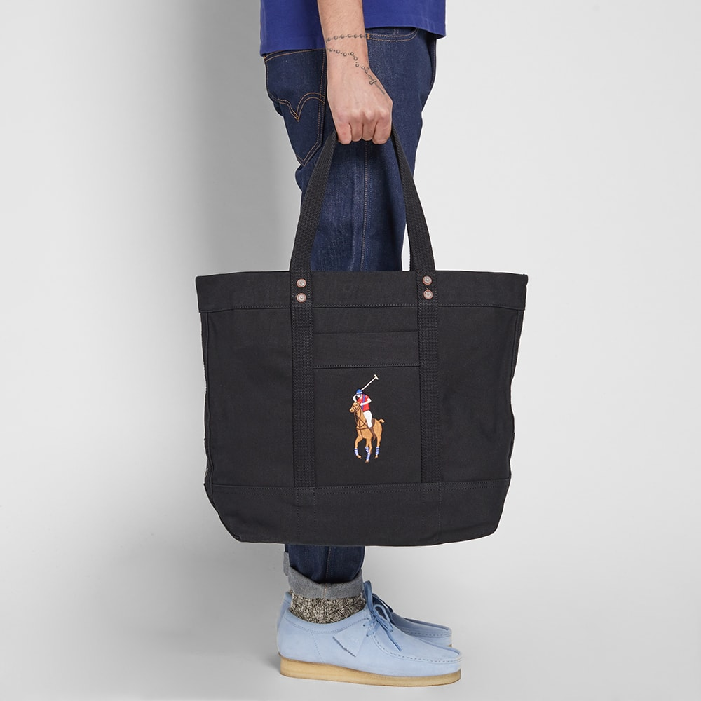 Embroidered Tote Lauren Bag Polo Ralph N8wOvn0m