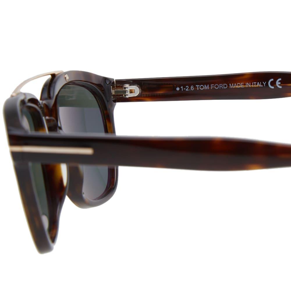 a0d2dfea53 Tom Ford FT0516 Holt Sunglasses Dark Havana   Green Polarized