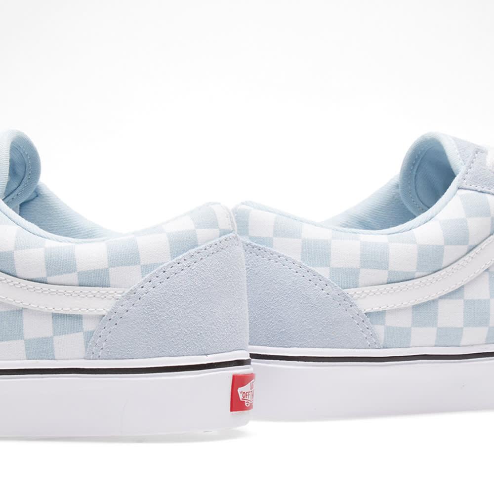 62034993e0e21c Vans Old Skool Lite Checkerboard Baby Blue   True White