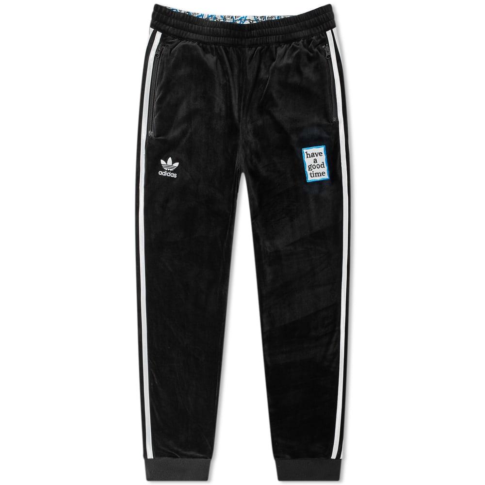 ec6c477c478 Adidas x Have A Good Time Velour Track Pants