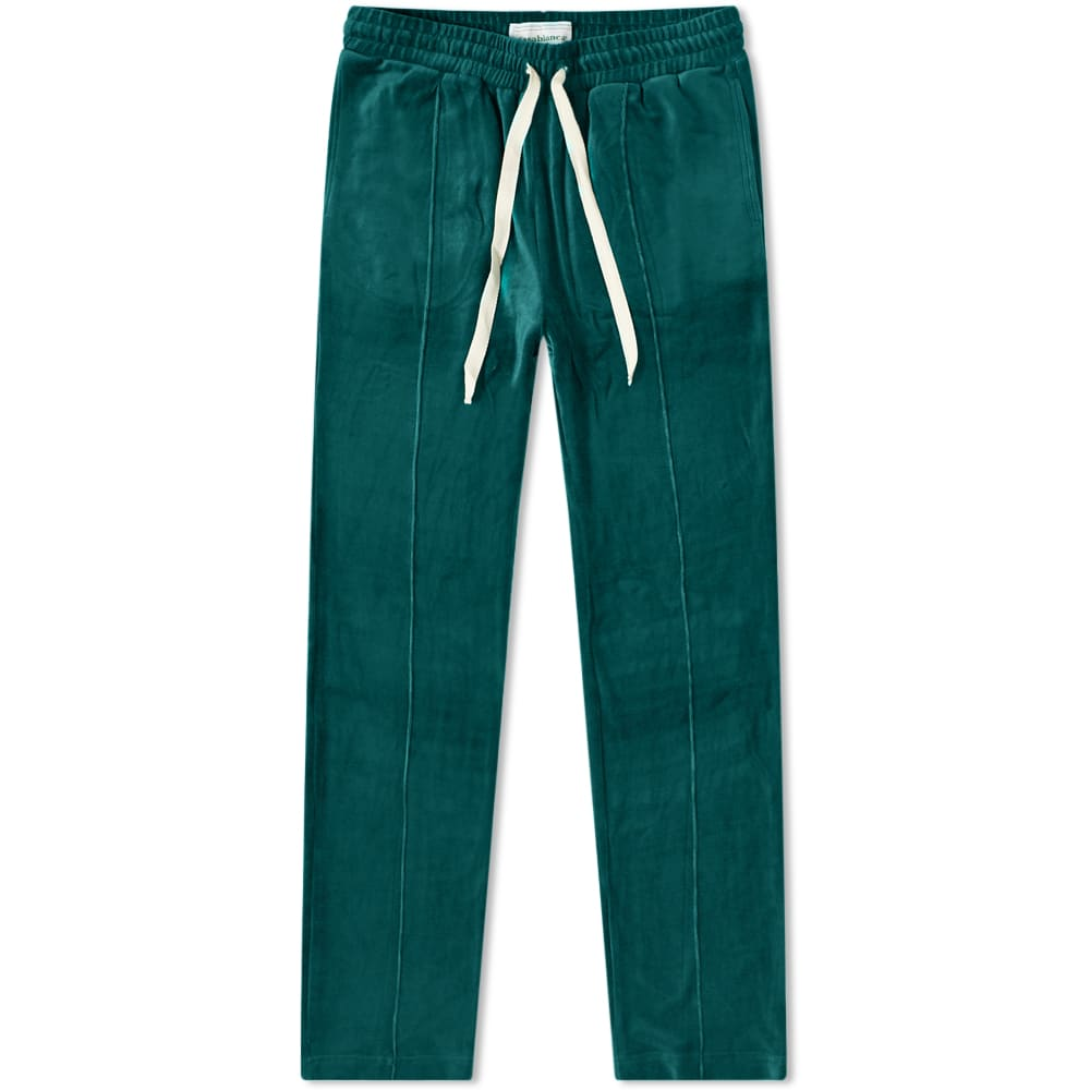 Casablanca Velour Track Pant Green End