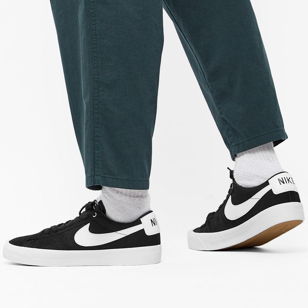 Nike SB Zoom Blazer Low Pro GT Black, White, Gum & Brown | END.