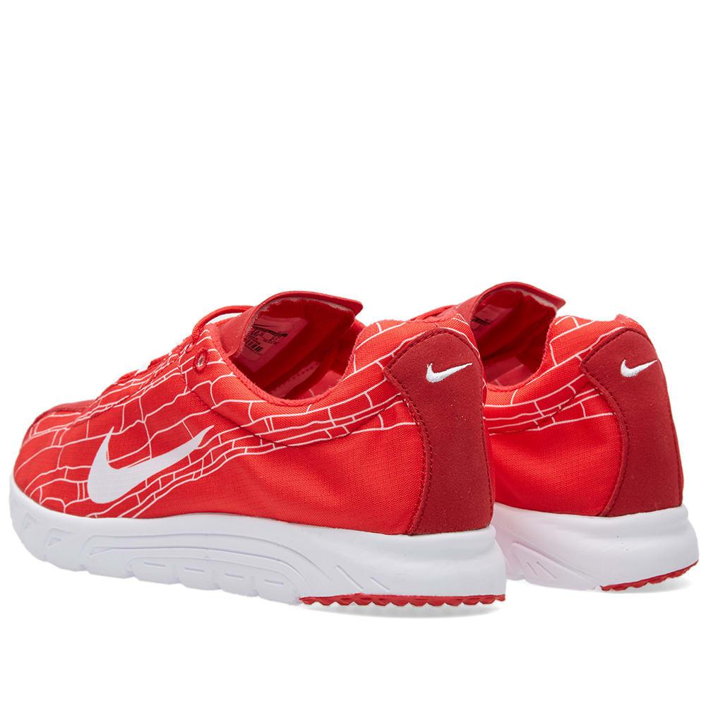 pretty nice 6a2b4 090d4 Nike Mayfly University Red & White   END.