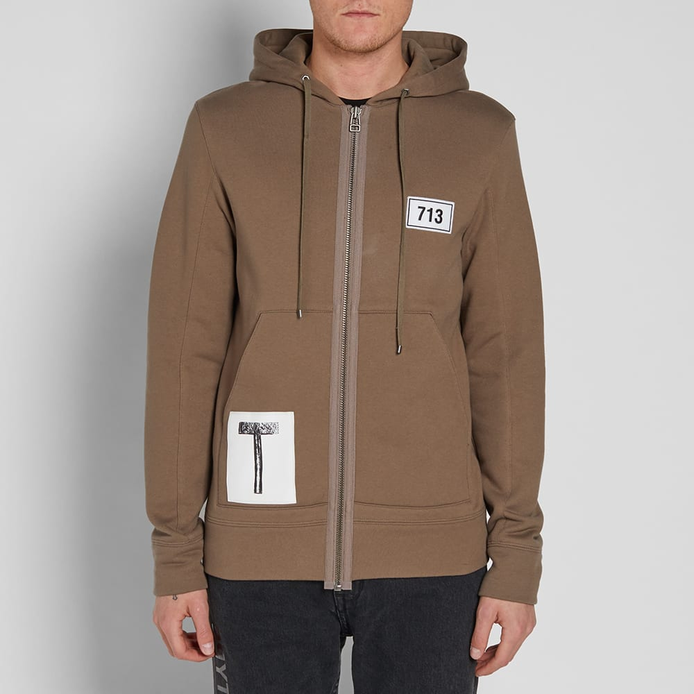 Helmut lang x travis scott smoke patch zip hoody wren for Schlafsofa 2 m lang