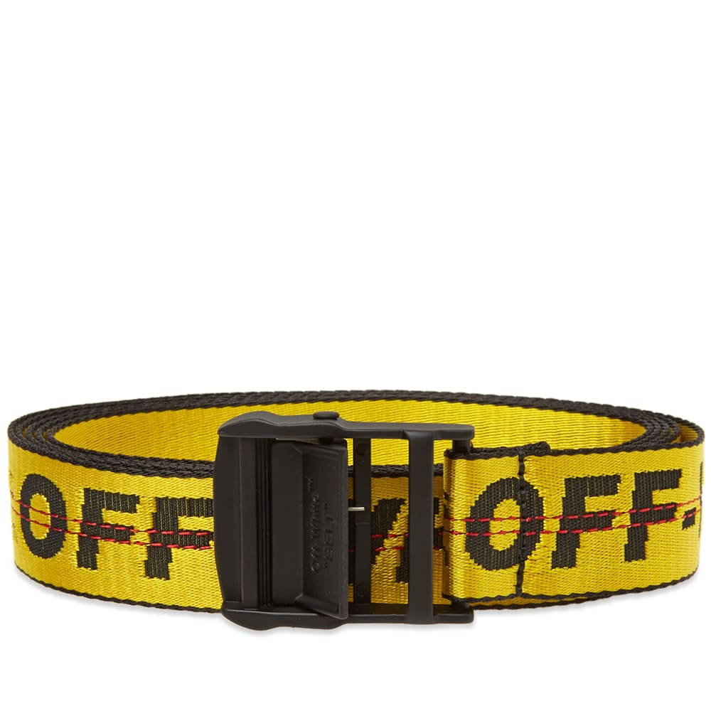 Off-White Industrial Belt Yellow | END
