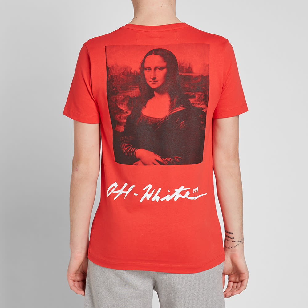 d7259b63 Off White Mona Lisa T Shirt Red – DACC