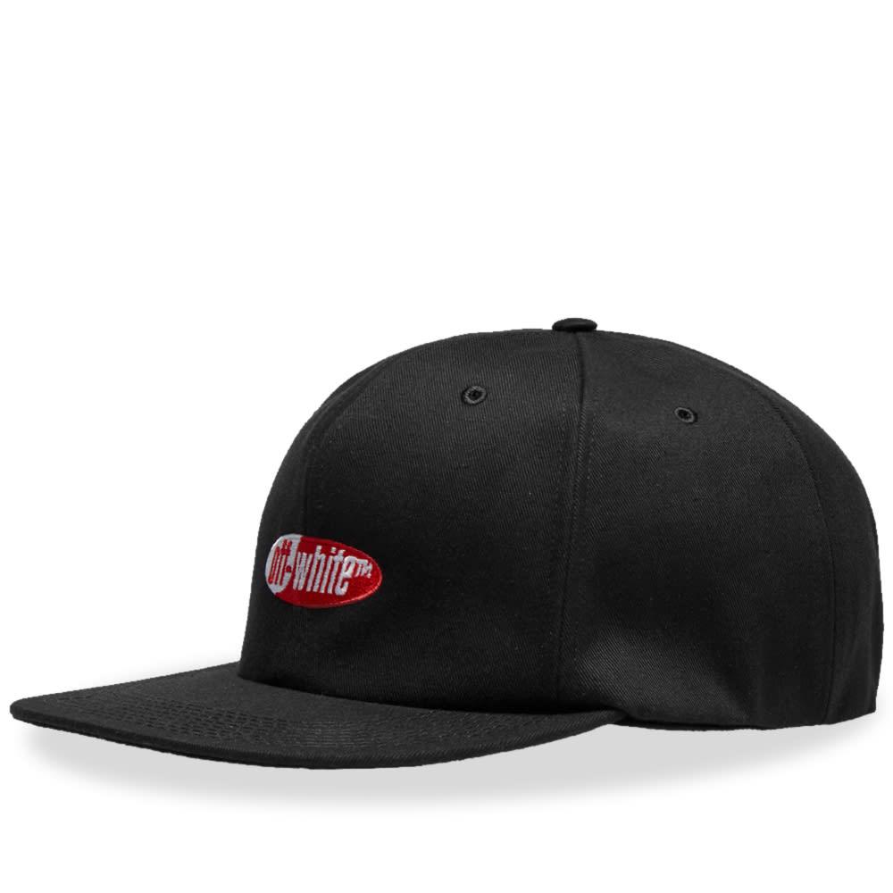 917d34235875d6 Off-White Split Logo Cap Black & Red | END.