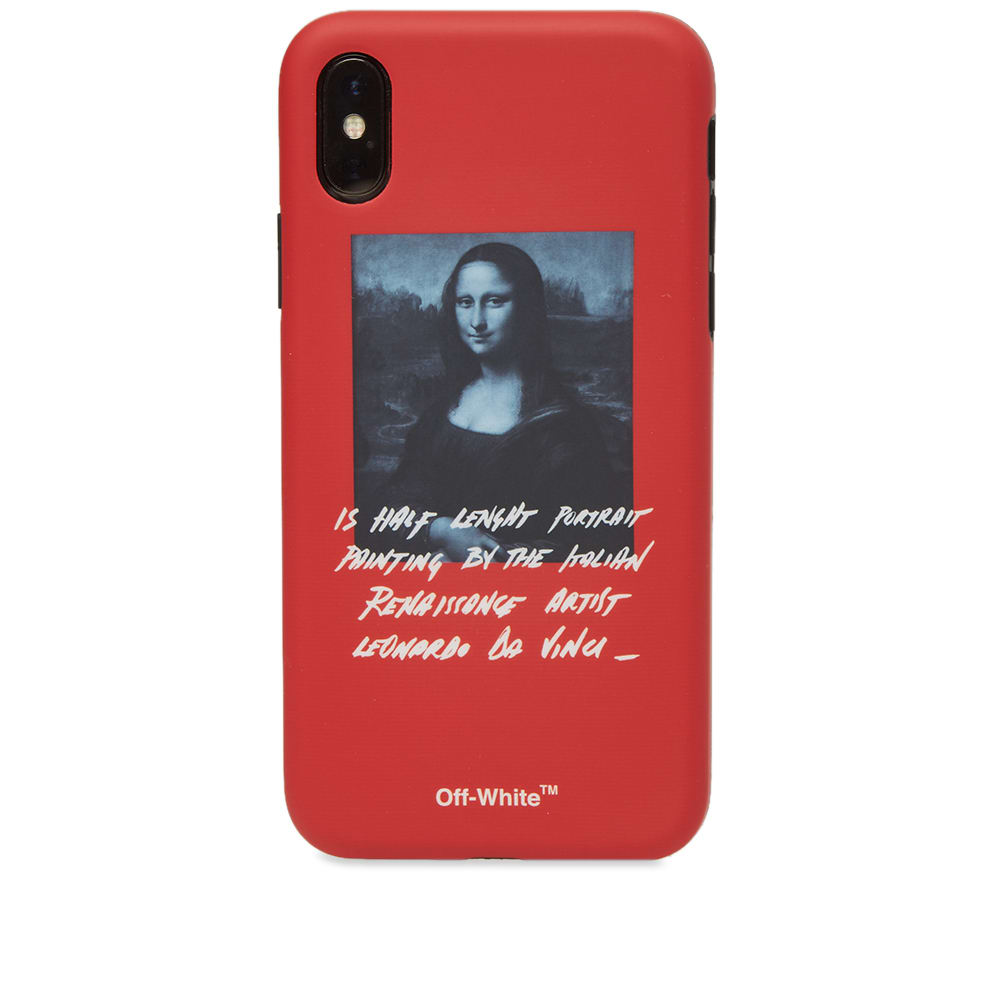 official photos a52cf 85016 Off-White Mona Lisa iPhone X Cover