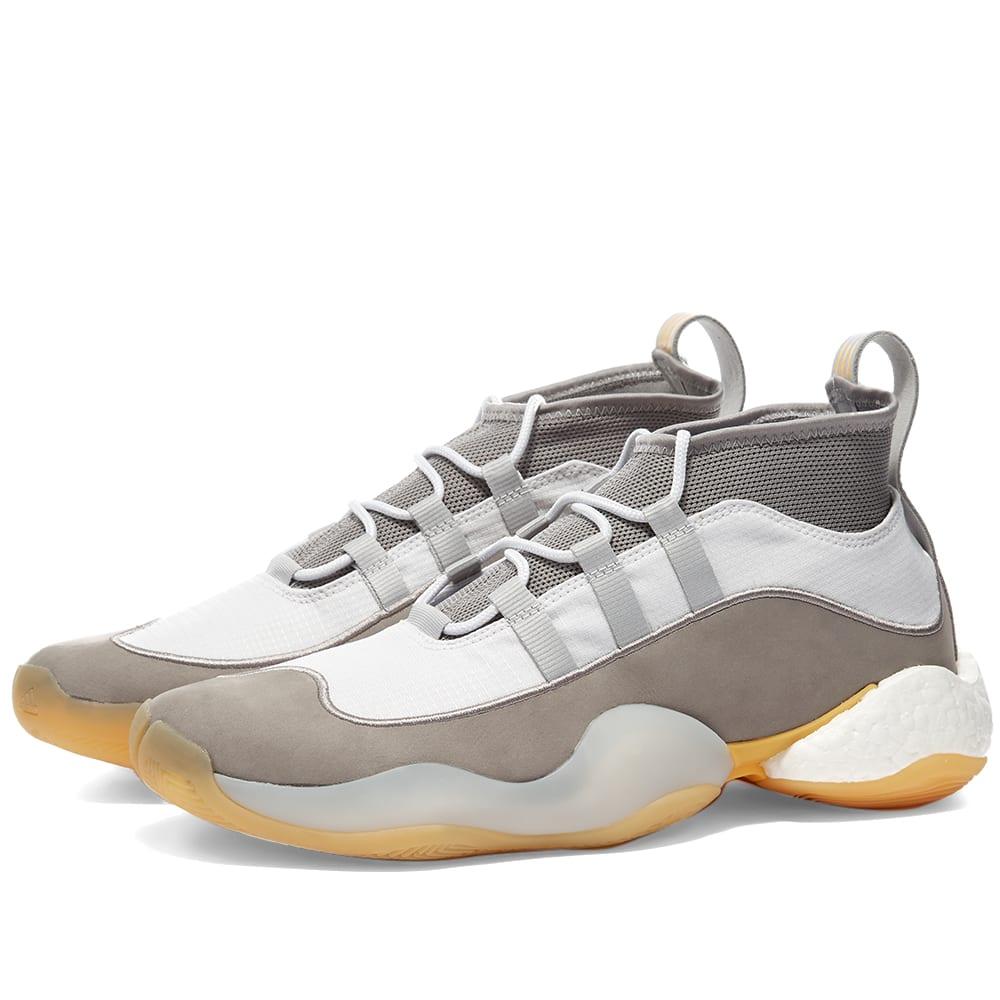 Triturado periodista auxiliar  Adidas Consortium x Bed JW Ford Crazy BYW White, Grey & Yellow | END.