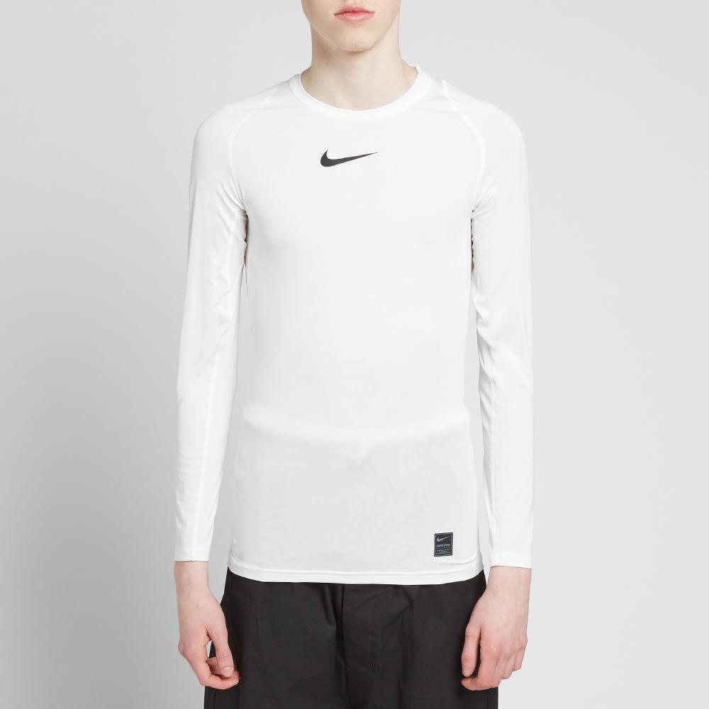 09a24567 1017 ALYX 9SM x Nike Long Sleeve Laser Camo Tee White | END.