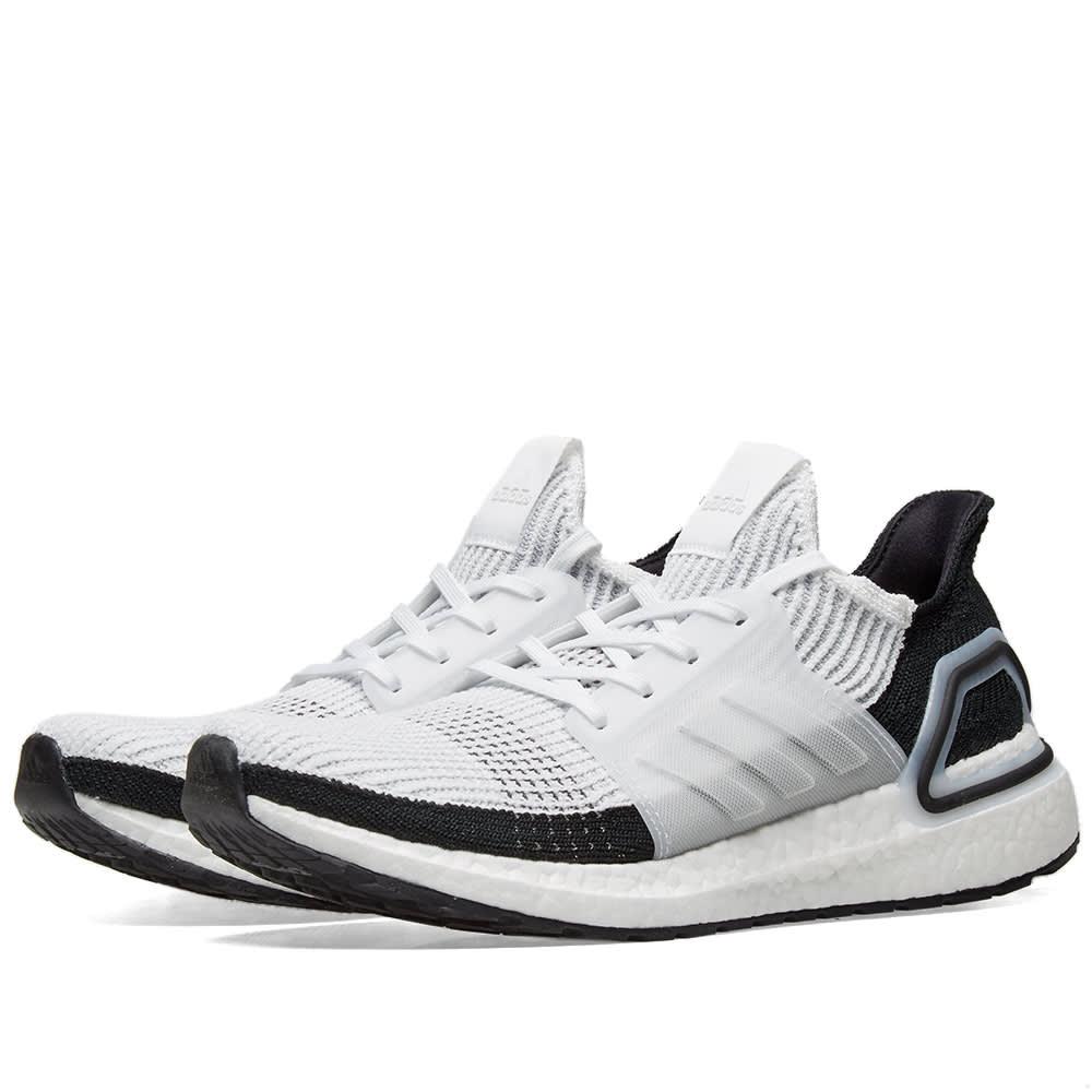 f8f6f72e5 Adidas Ultra Boost 19 White   Grey
