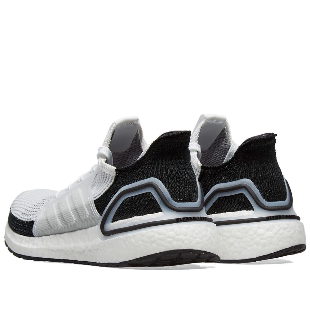 Adidas Ultra Boost 19 White Grey Black Best Price B37707