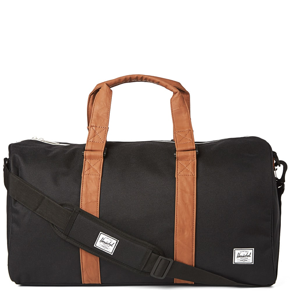 6fd3a13222b Herschel Supply Co. Novel Holdall Black   Tan