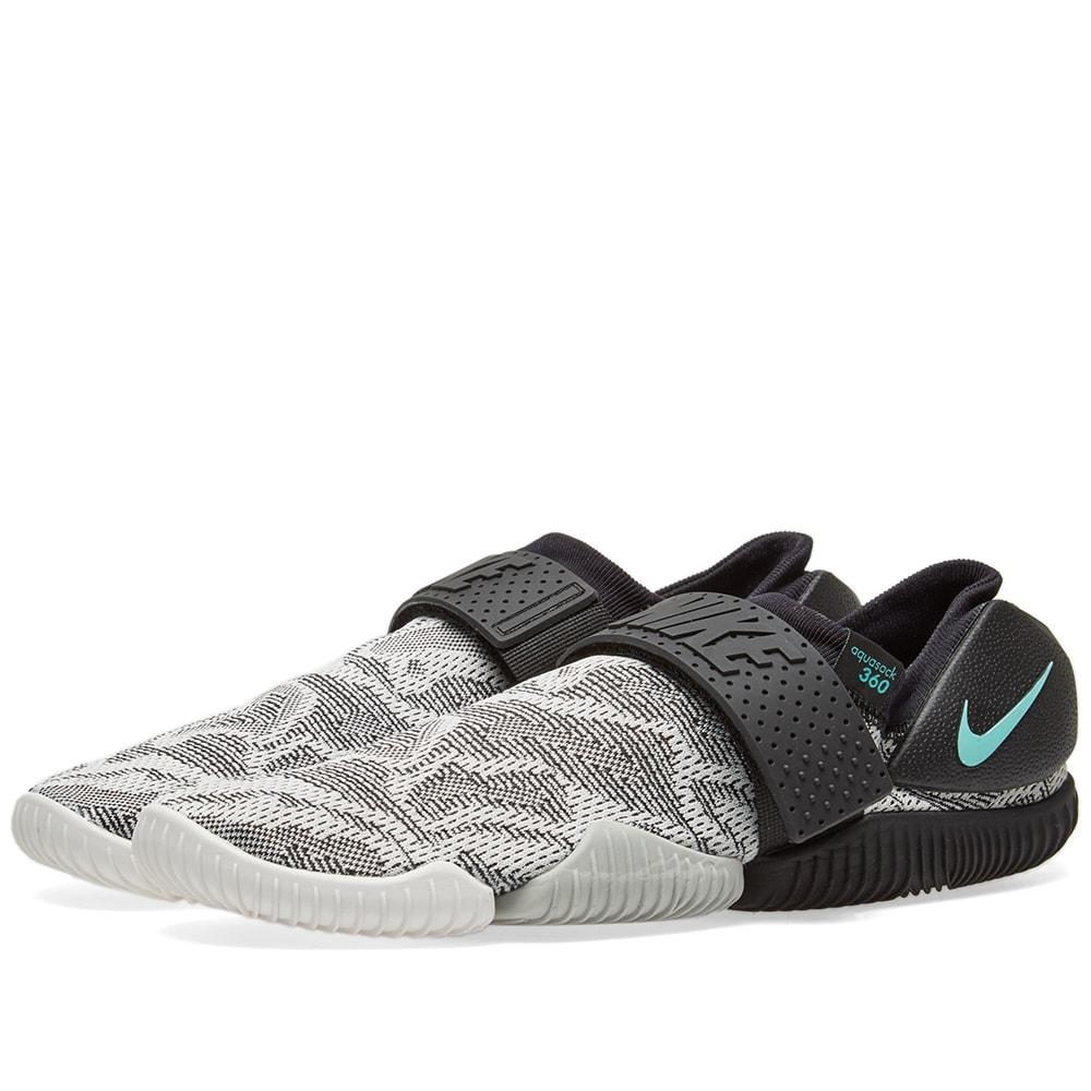 Nike Aqua Sock 360 Black, Hyper Turq