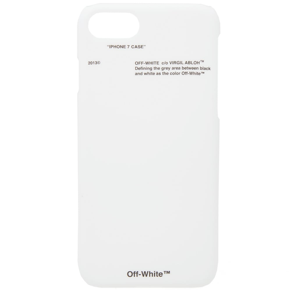 buy online c8ac5 6e03f Off-White Corporate IPhone 7 Case