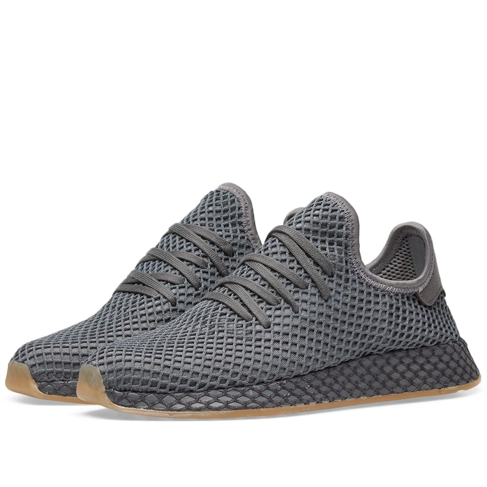 adidas Deerupt Runner Herren Schuhe Grey Three Grey Four