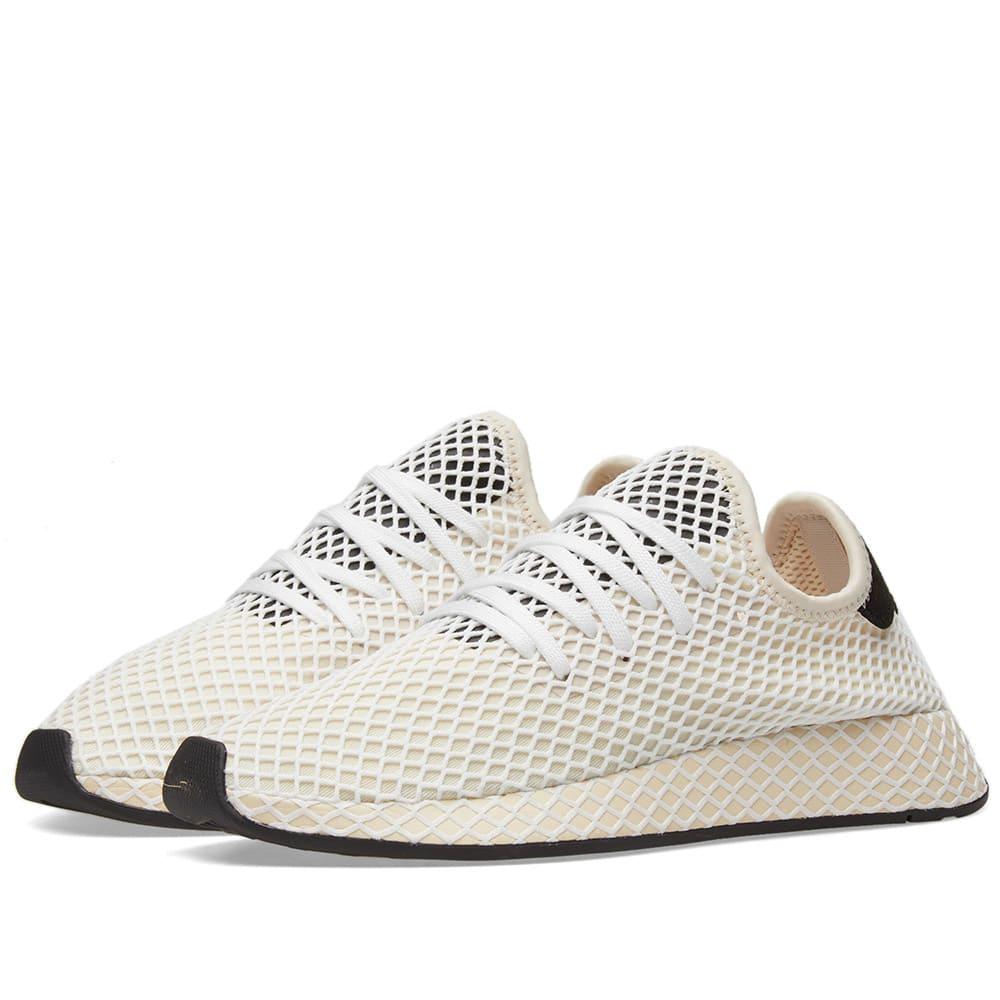 a631839dc5bf3 Adidas Deerupt Runner W Linen   Ecru Tint