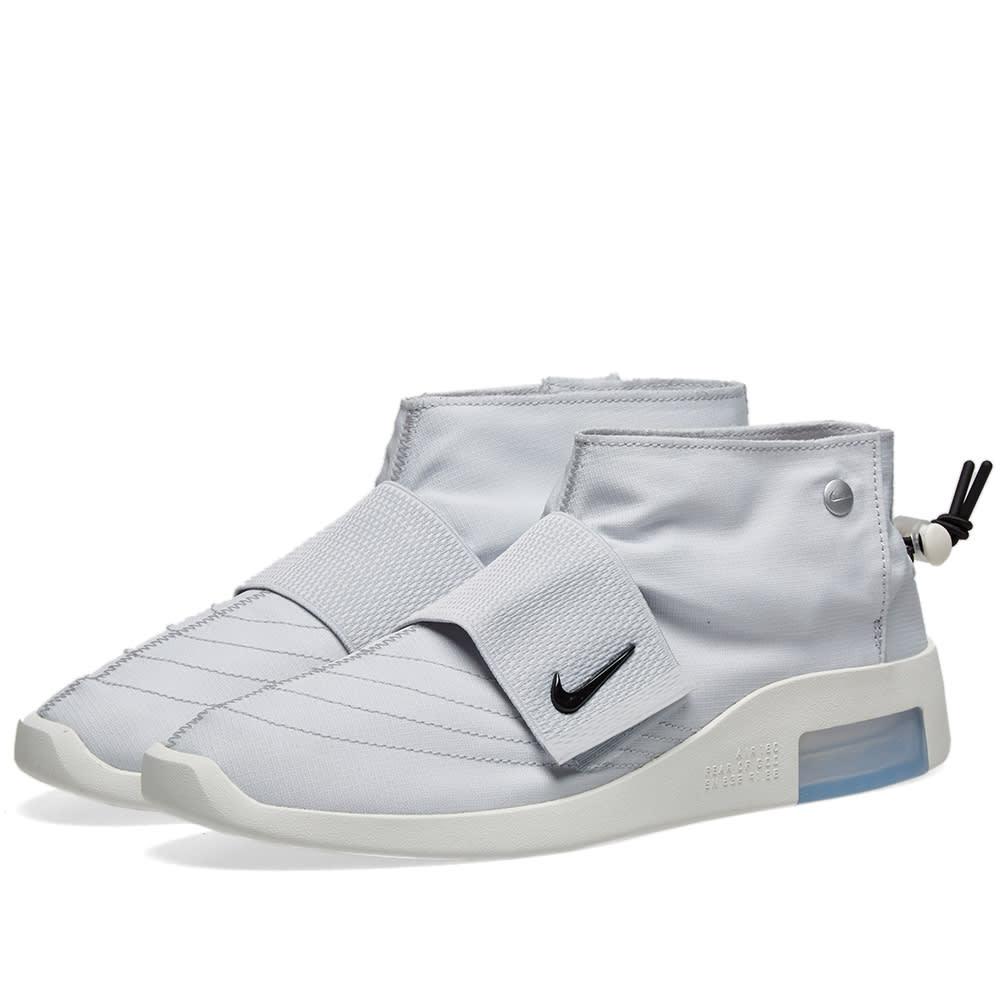 fcdd2bc6 Nike Air 1 x Fear Of God Strap Pure Platinum, Black & Sail | END.