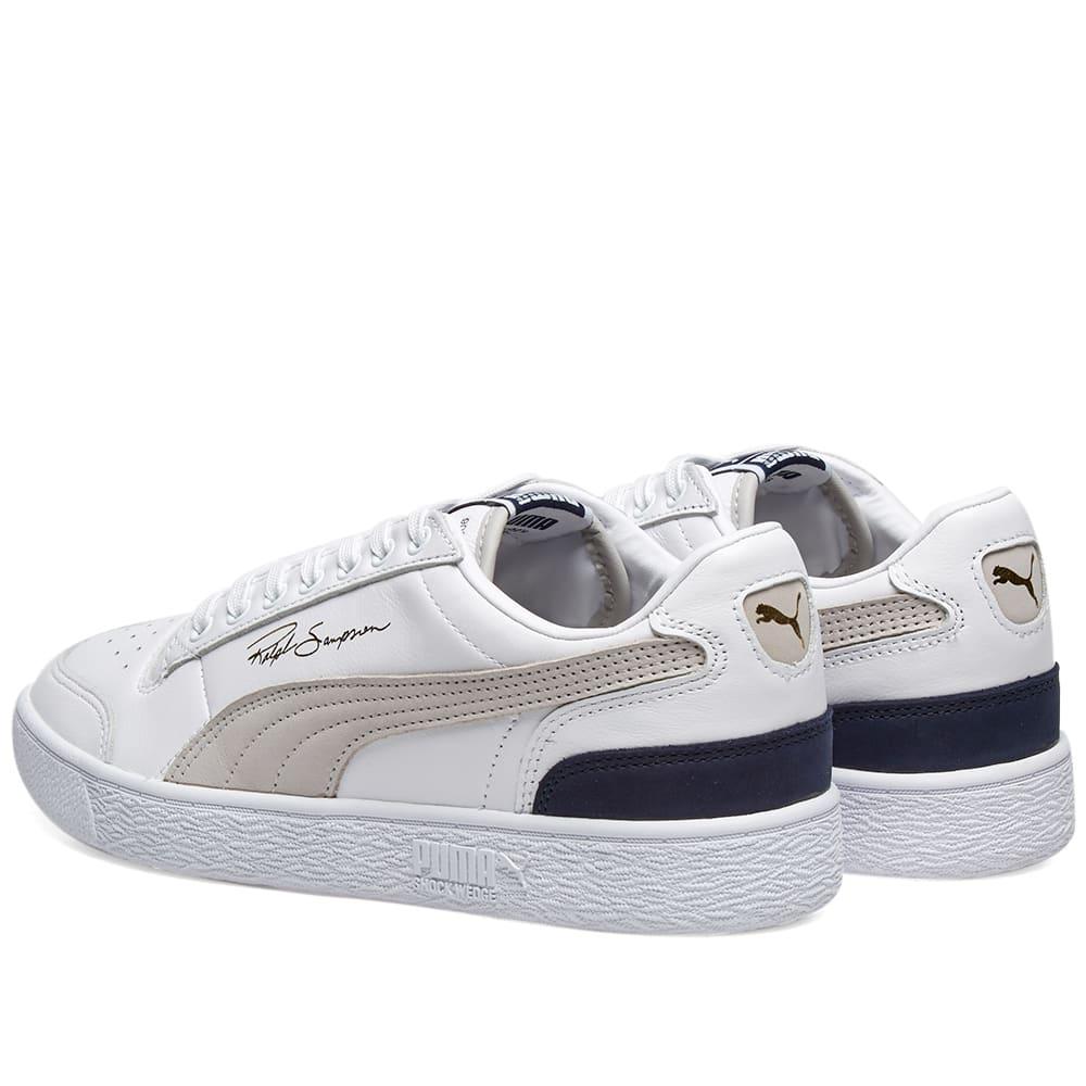 20b4290223f4 Puma Ralph Sampson Low OG Puma White   Grey Violet