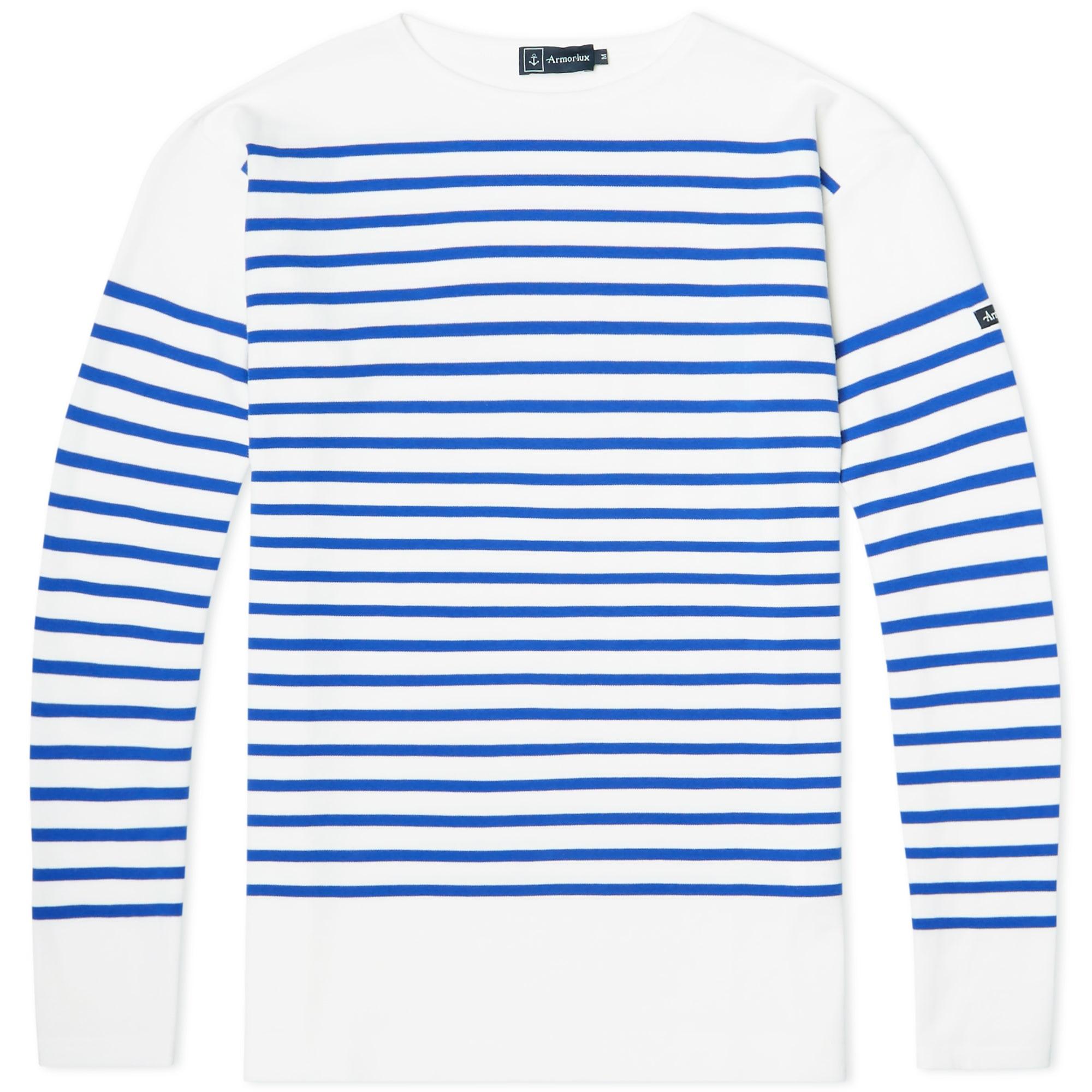25 05 2015 Armorlux 1140longsleevesailortee White Blue Jm