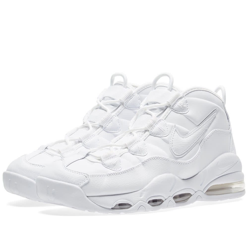 Nike Air Max Uptempo 95 Triple White | 922935 100