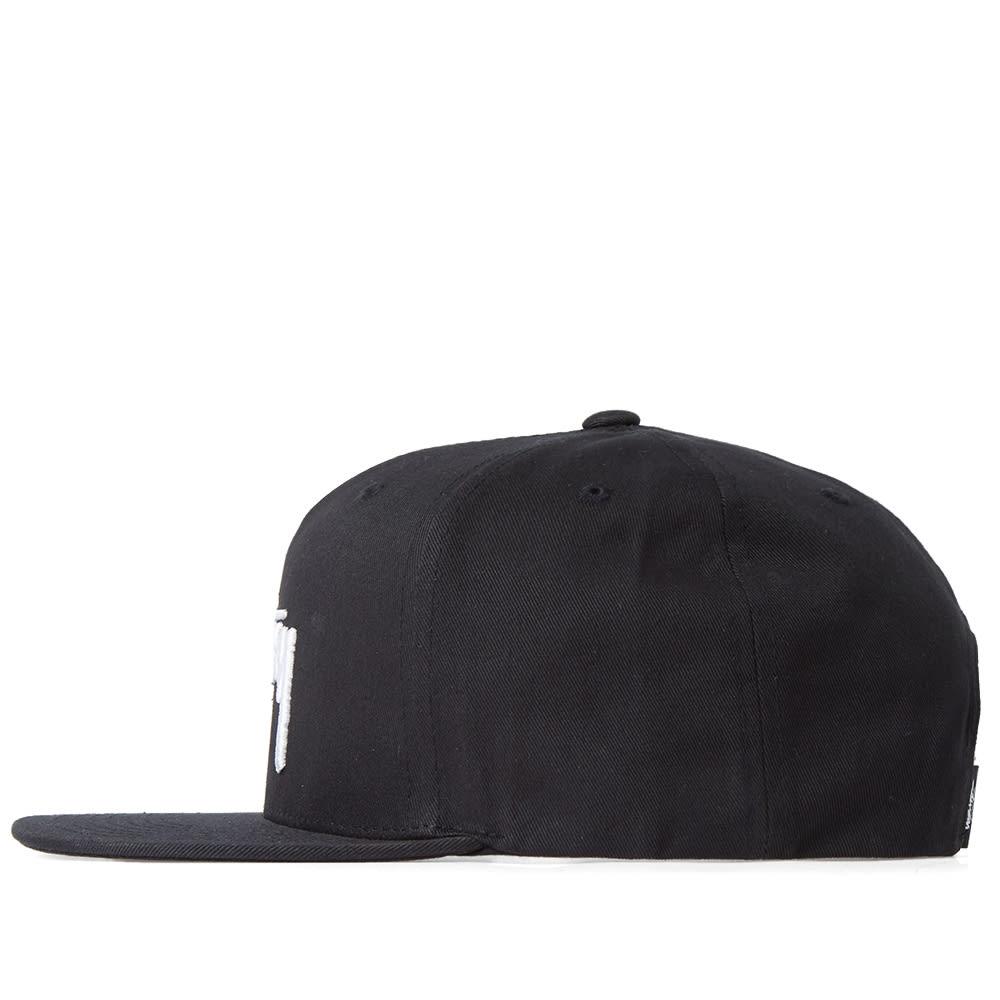 66cee2777cf686 Stussy Stock SU17 Snapback Cap Black   END.