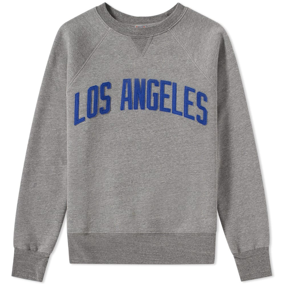 EBBETS FIELD FLANNELS LOS ANGELES ANGELS CREW SWEAT