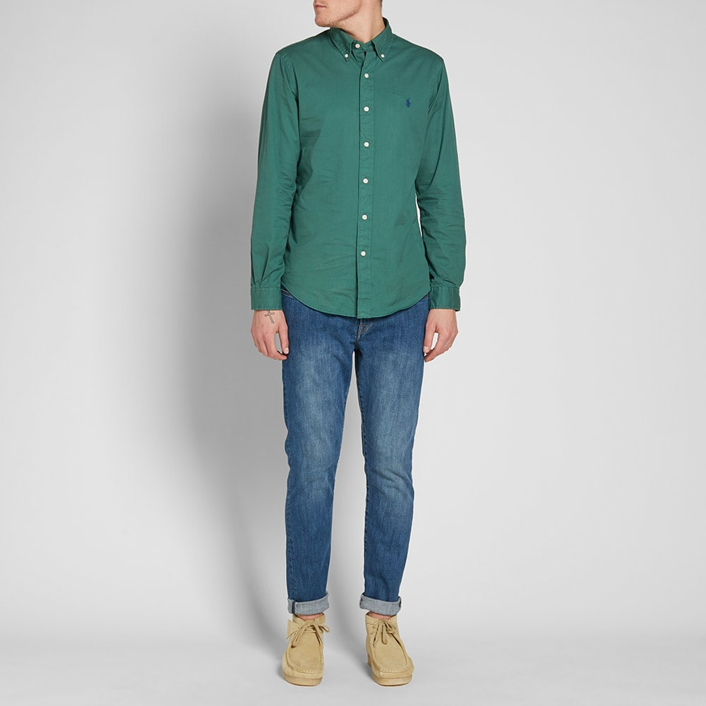 c5368b5e Forest Green Button Down Shirt | Top Mode Depot