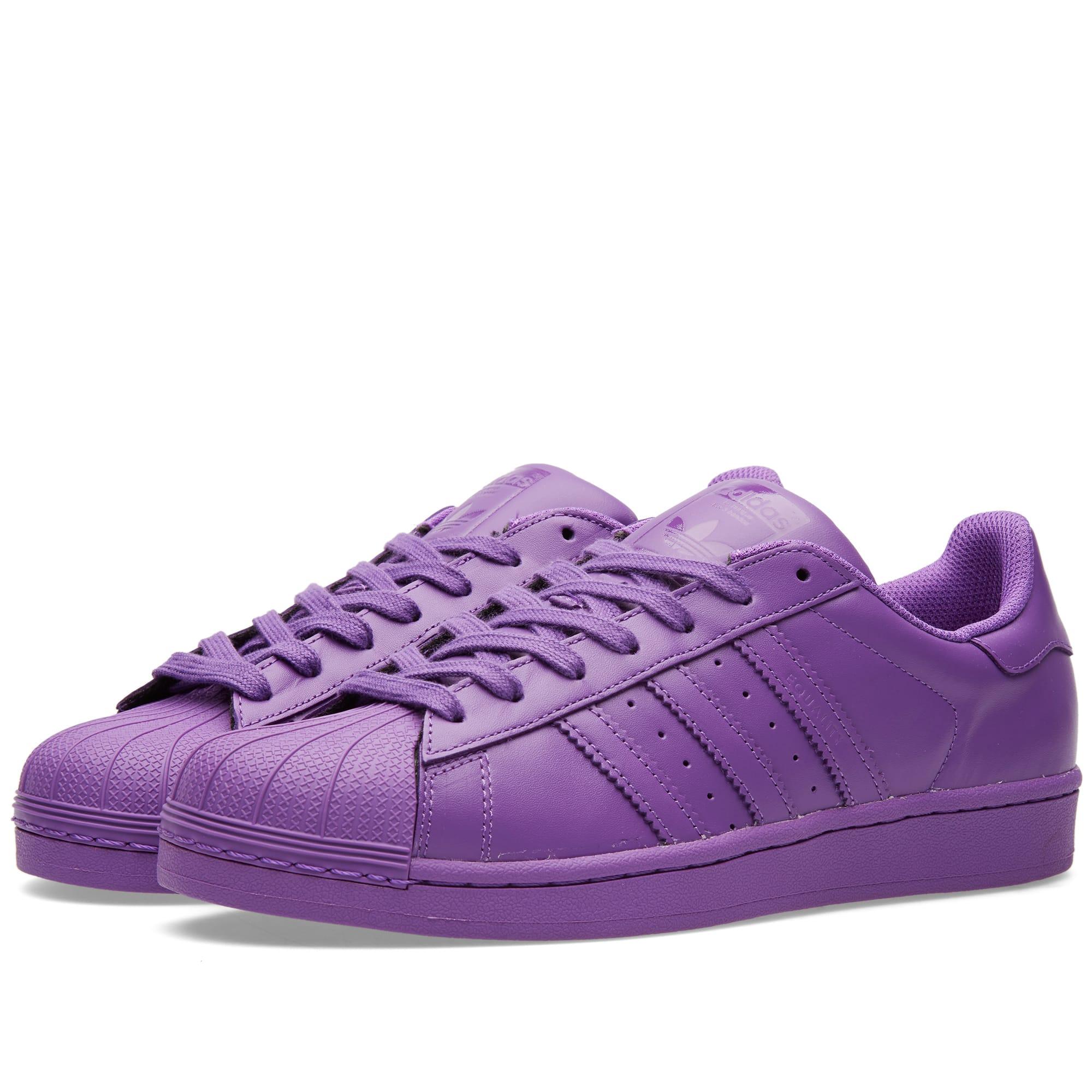 387b3a273b Adidas x Pharrell Superstar 'Supercolour' Ray Purple | END.