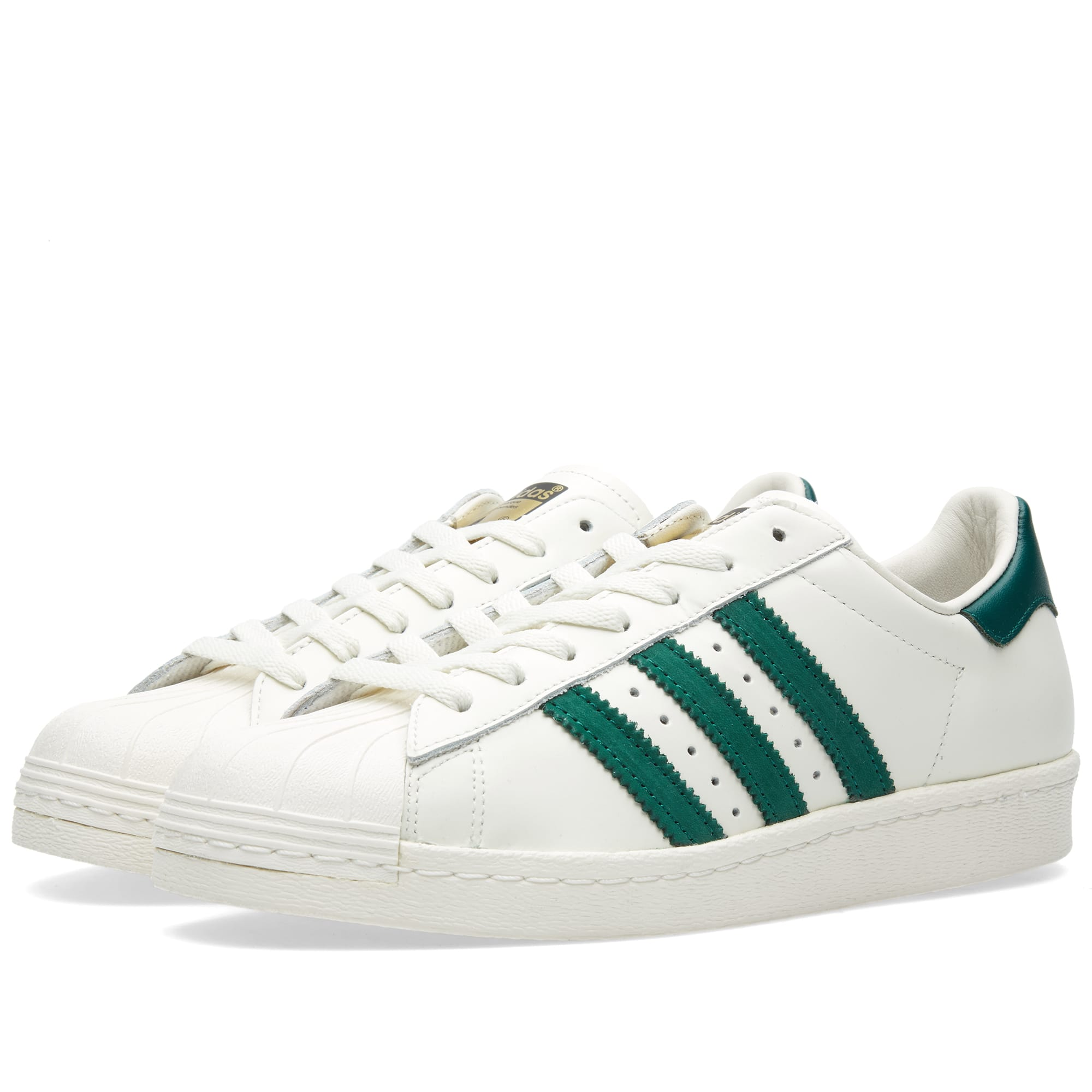 adidas superstar 80s dlx vintage white green. Black Bedroom Furniture Sets. Home Design Ideas