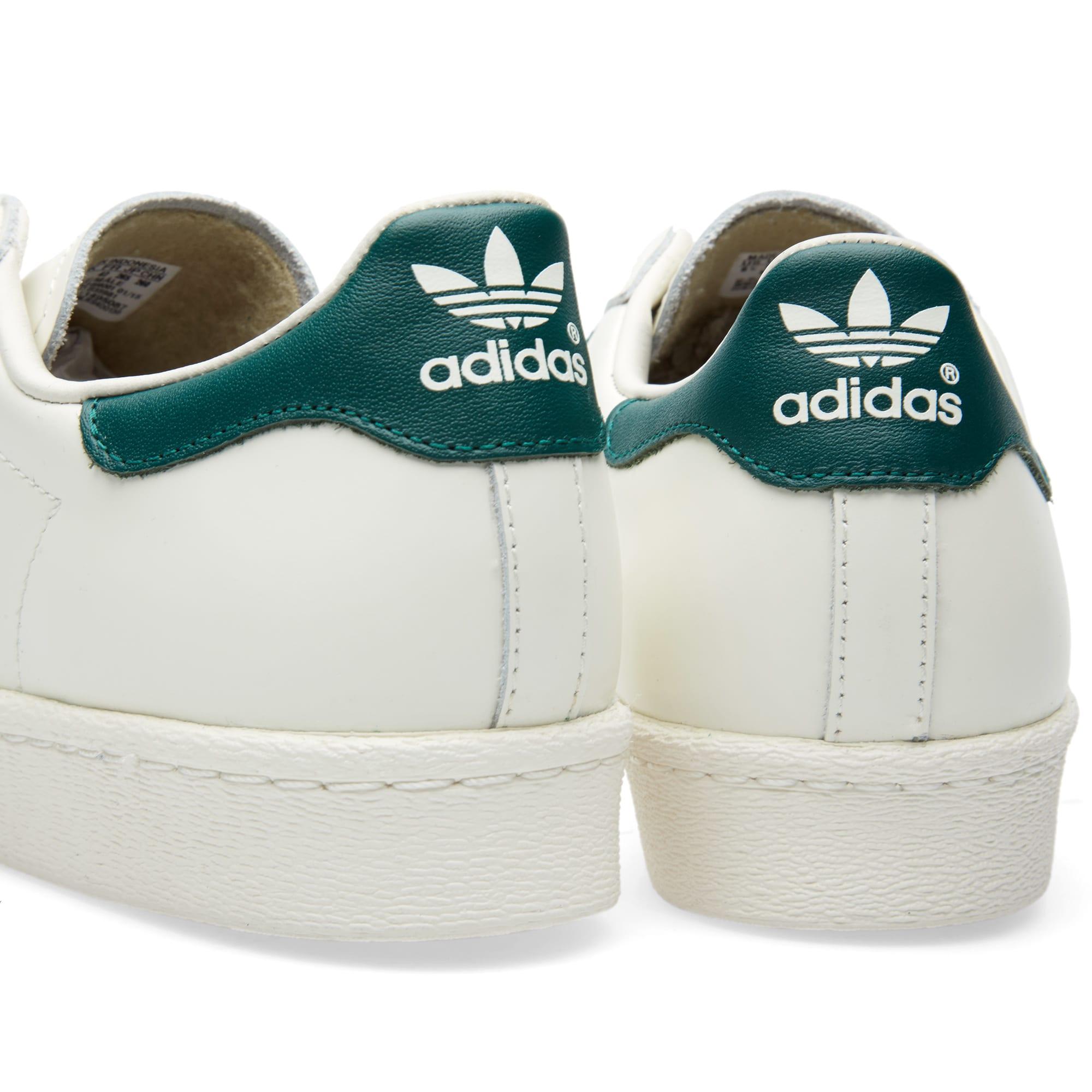 ADIDAS SUPERSTARS SNEAKER Schuhe 43 13 weiß Retro white Three Stripes