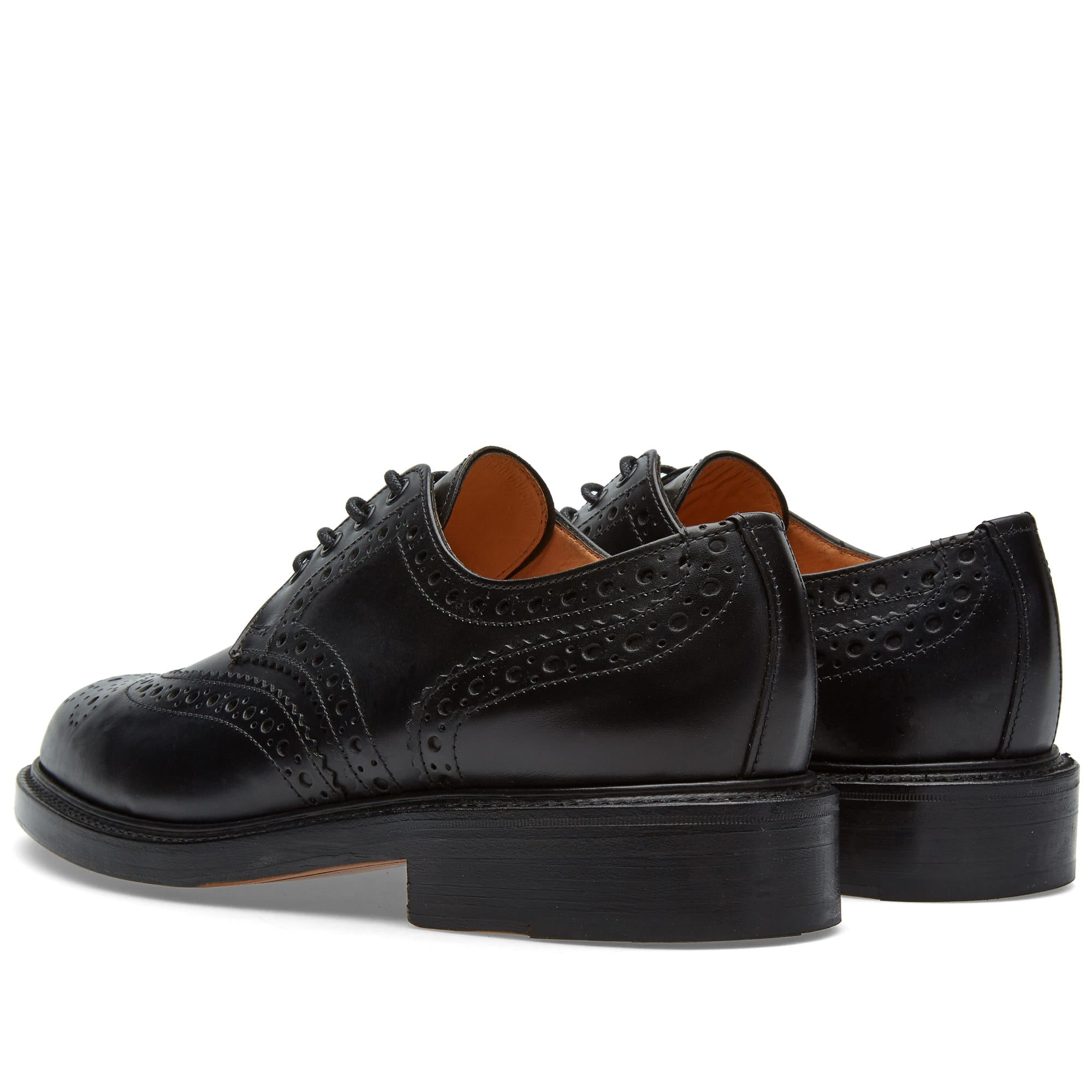 Fakenham United Kingdom  city images : Sanders Fakenham Gibson Brogue Black Calf