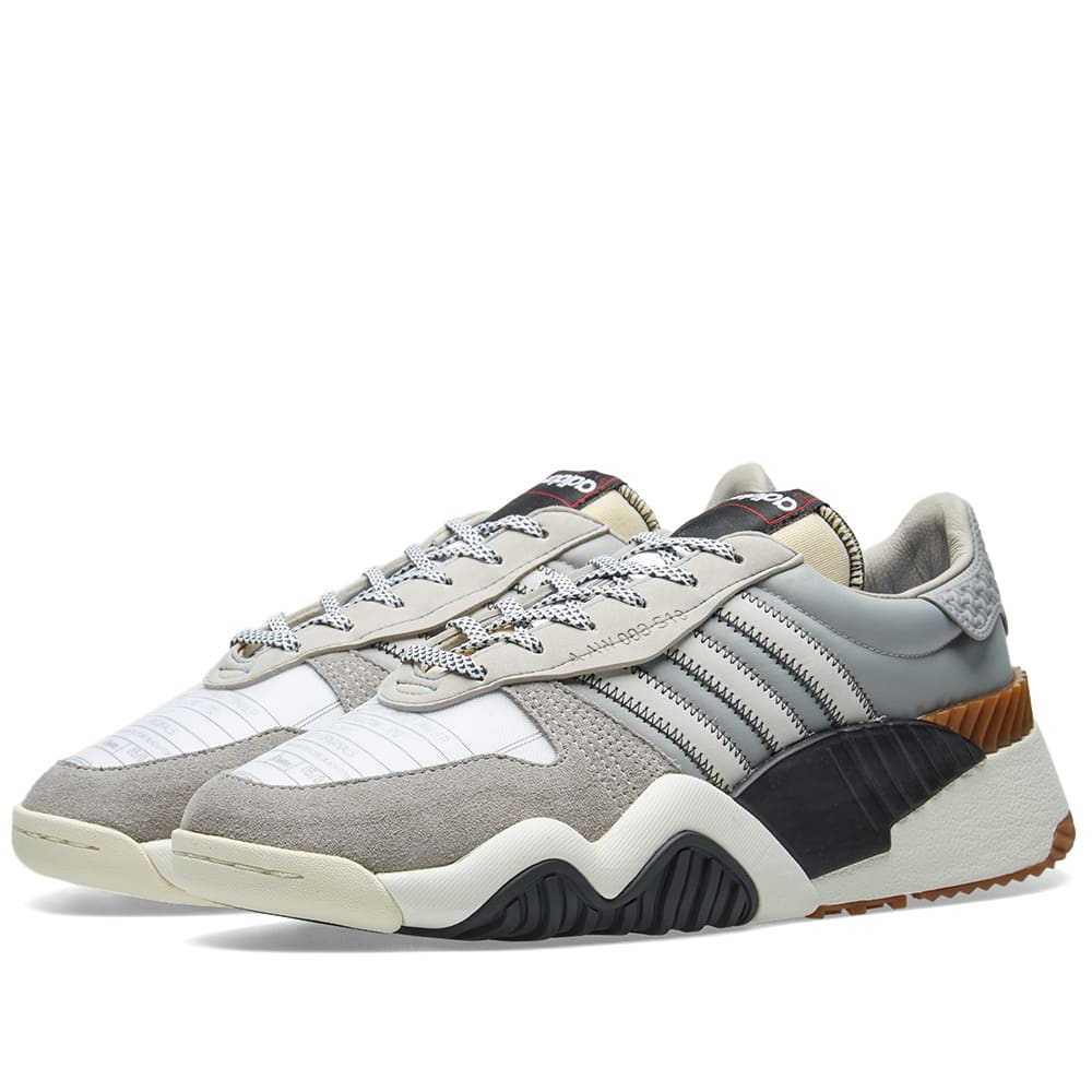 huge discount 13f49 c12bc Adidas Originals by Alexander Wang Trainer Brown, White   Black   END.