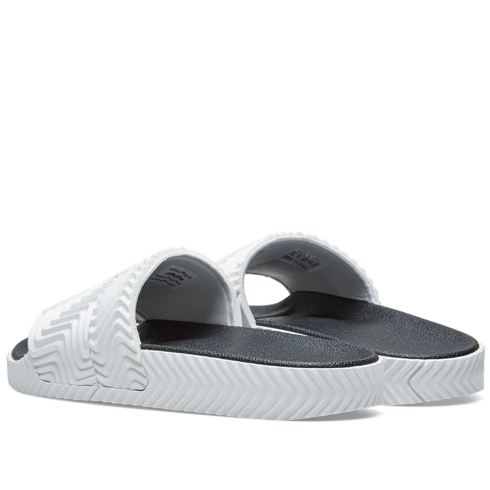 f2b52b9acc6d Adidas Originals by Alexander Wang Adilette White   Black