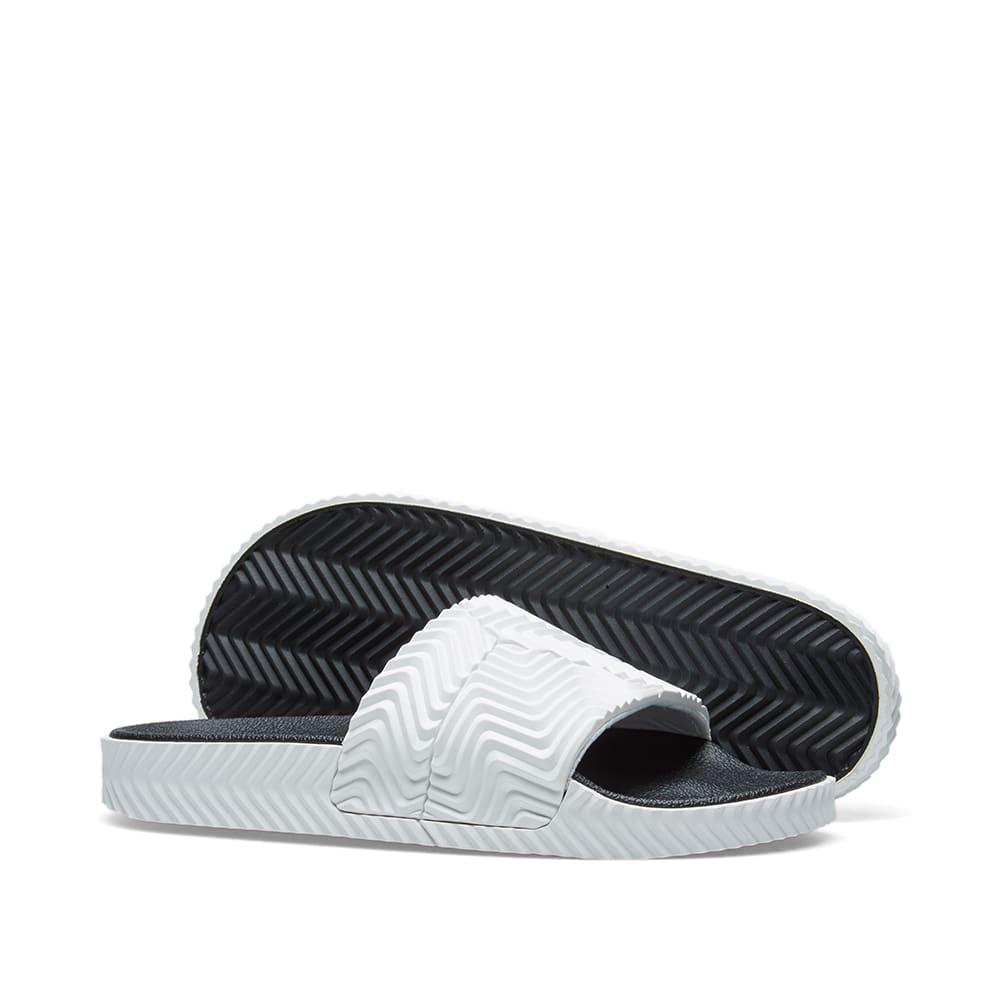 716788e4ee19 Adidas Originals by Alexander Wang Adilette White   Black