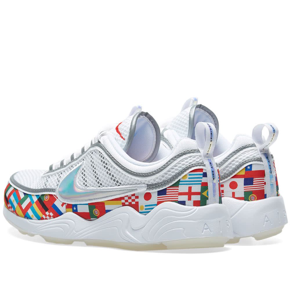 7eaeb4c7730f Nike Air Zoom Spiridon 16  NIC White   Multi
