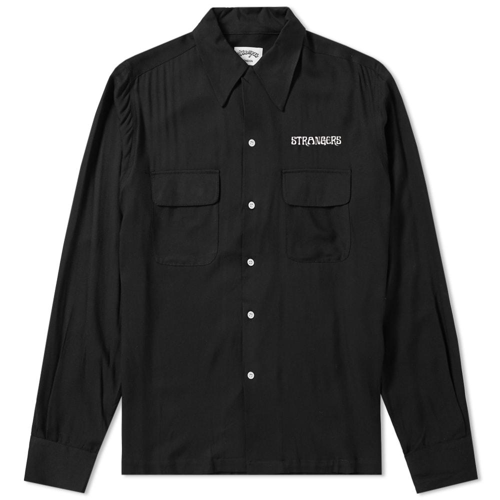 STRANGERS Strangers Heart Breaker Shirt in Black