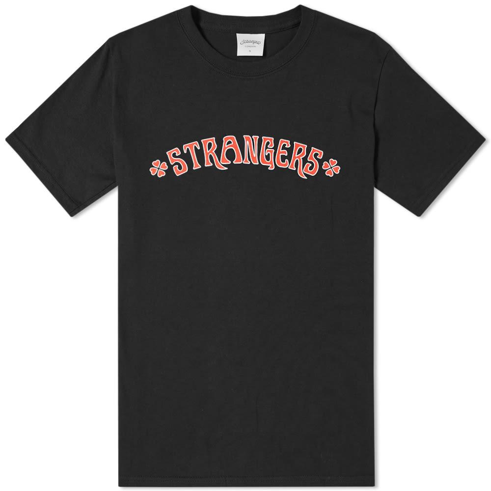 STRANGERS Strangers Heart Breakers Tee in Black