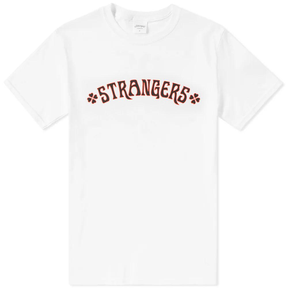 STRANGERS Strangers Heart Breakers Tee in White