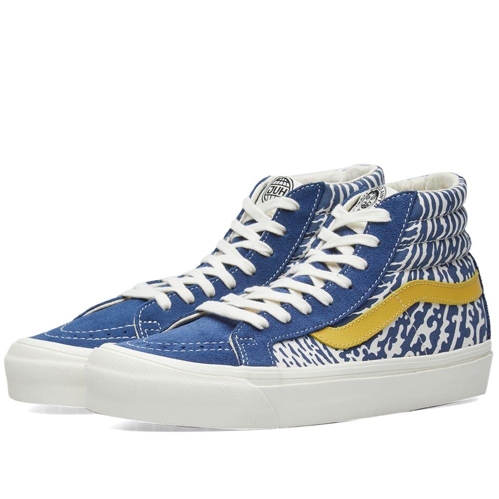 d41b616142 Vans Vault x John Van Hamersveld OG Sk8-Hi LX Estate Blue