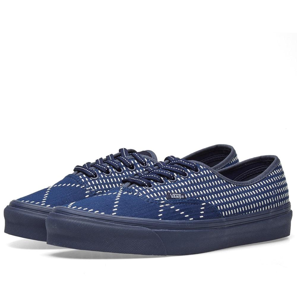 Vans Vans X Fdmtl Lace-Up Sneakers - Blue