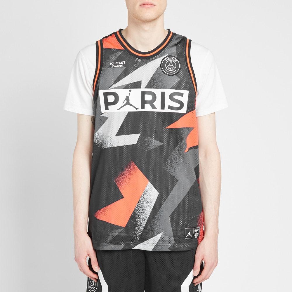 Air Jordan x PSG Mesh Jersey